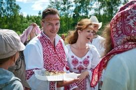 """На """"Атмановских кулачках"""" впервые покажут обряд русской свадьбы"""