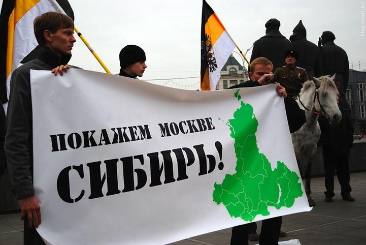 Организатору акции за федерализацию Сибири подбросили на порог баранью голову