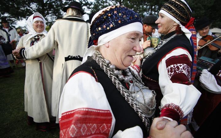 Российские и эстонские сето провели в Псковской области семейные встречи