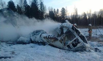 Алтайцы после крушения вертолета потребовали ввести мораторий на частные полеты