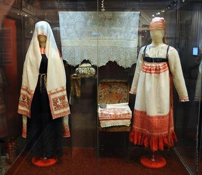 Русский исторический костюм середины XIX — начала XX века