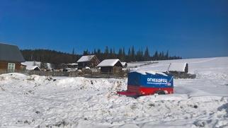 В челканской деревне на Алтае знают всех кандидатов в Президенты РФ