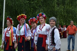 Лучшие сало и вареники выбрали на украинском фестивале в Челябинской области