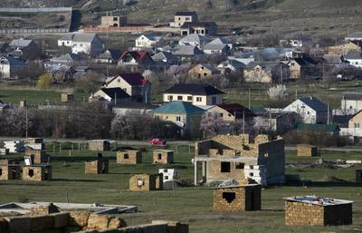 Места проживания депортированных в Крыму только на 30% снабжены газом
