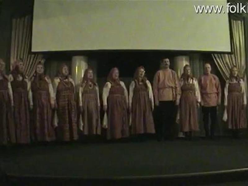Веркольский народный хор