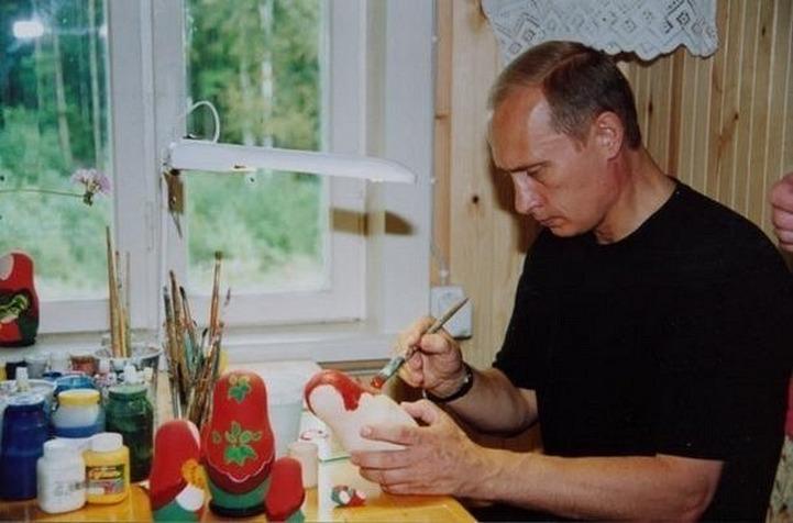 Путин поручил правительству продвигать народные промыслы и ремесла