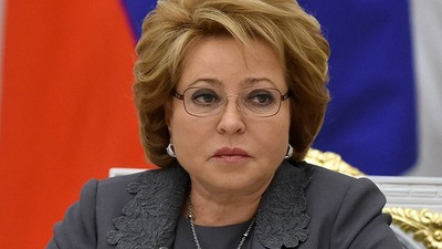 Матвиенко обвинила Европу в попытке разорвать связи между народами