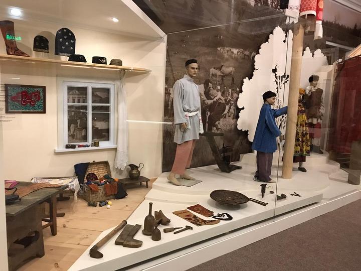 Постоянная экспозиция о татарах Поволжья и Приуралья открылась в РЭМ