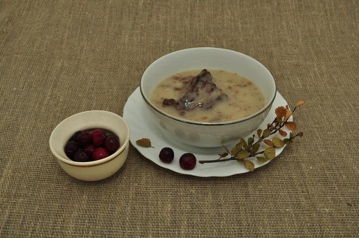 Яъевэй. Суп из оленины