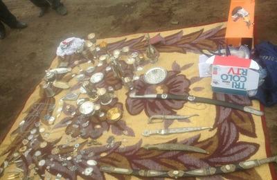 Найдены украденные из кубачинского музея старинные экспонаты