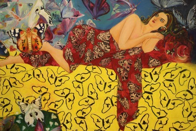 """Выставка азербайджанских художников """"Хары бюльбюль - цветок мира и любви"""""""