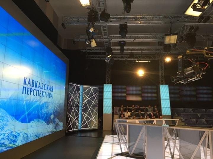 """В Грозном начали съемку нового проекта """"Кавказская перспектива"""""""