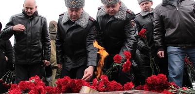 В Адыгее почтили память бойцов, погибших 20 лет назад в Чечне