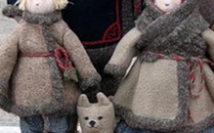 Мурманских дошколят познакомили с фольклором поморов