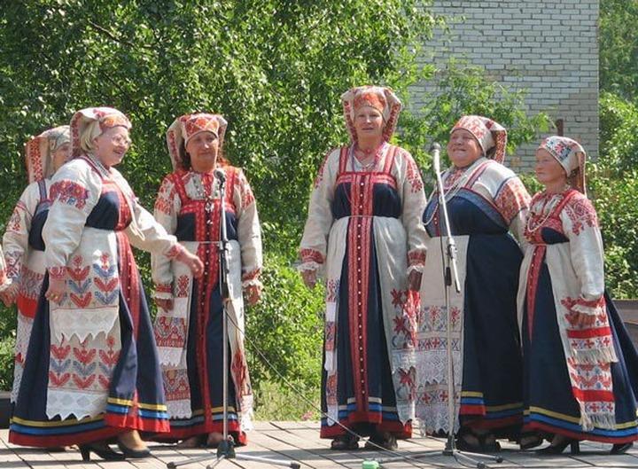 Ижорский праздник прошел в Ленинградской области