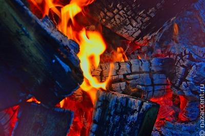 Более 40 шаманов Тувы проводили зиму обрядом