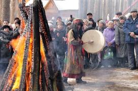 Шорский Новый год встретили у священной горы Мустаг