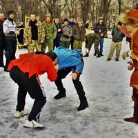 Традиционные спортивные игры на Масленицу