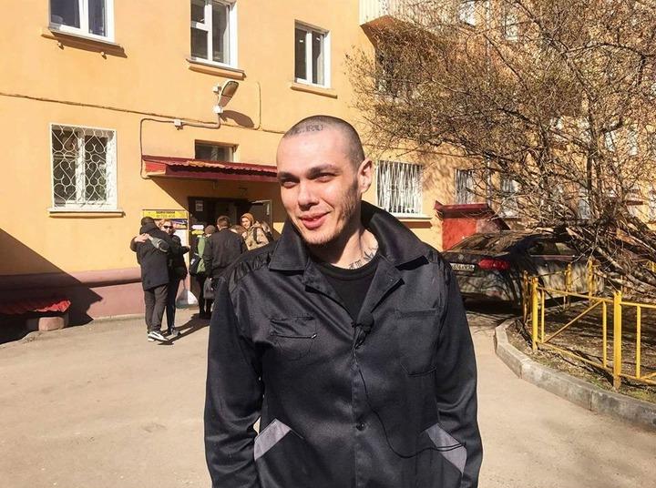 Антифашист Алексей Сутуга вышел из колонии