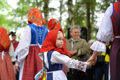 """800 мастеров съехались на фестиваль """"Голос ремесел"""" в Вологду"""