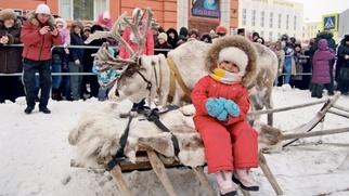 """На Таймыре прошел праздник встречи зимы """"Большой Аргиш"""""""