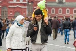 ФМС: В центре Москвы зарегистрировано больше приезжих, чем на окраинах