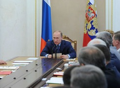 Первой задачей Совбеза Путин назвал укрепление межнационального согласия