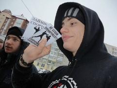 Националисты  ХМАО устроили новогодний Русский марафон