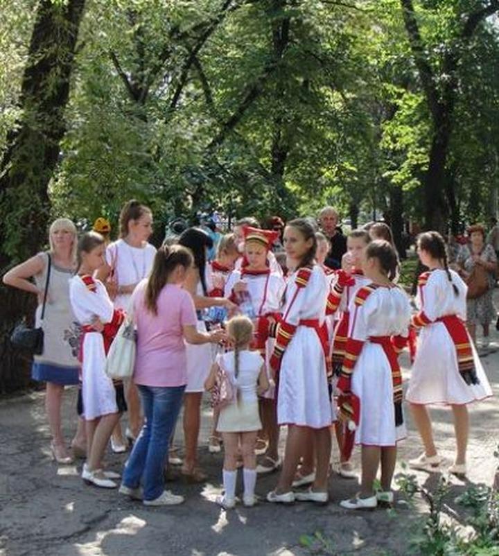 На Поволжском фестивале в Сызрани показали старинные семейные обряды