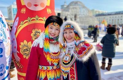 Мастера народных промыслов Республики Саха вышли на праздничное шествие в Якутске