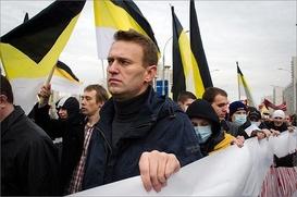 """Навального вызовут в суд для дачи показаний о """"Русском марше"""""""