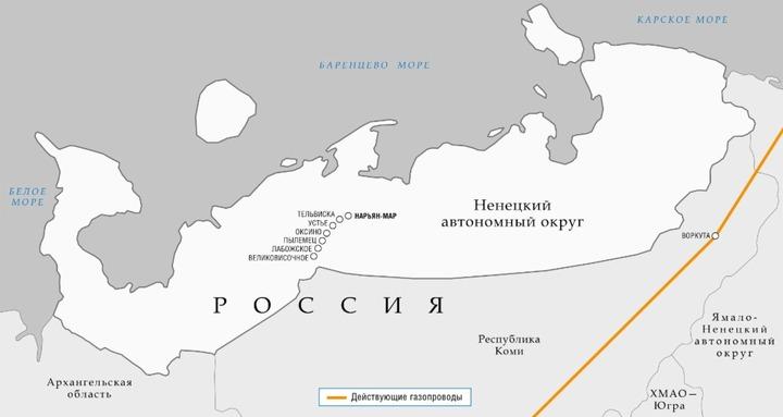 Жители Ненецкого автономного округа создали петицию против объединения с Архангельской областью
