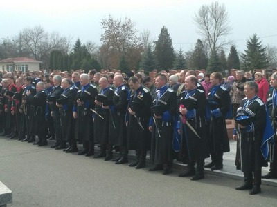Память жертв депортации терских казаков почтили в Беслане
