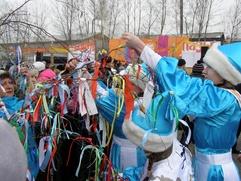 В Абакане началась подготовка к встрече хакасского Нового года