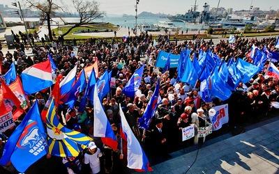 """В Крыму """"флешмобы"""" заменили на """"народные забавы"""""""