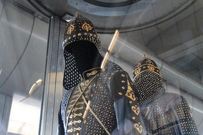 Казаки и адыги в национальных костюмах отправятся в конный поход в честь Великой Победы
