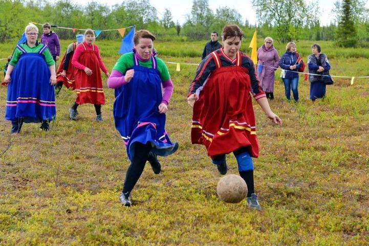 В Мурманской области прошли 30 Саамские игры