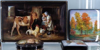 """На фестивале """"Русское поле"""" представят самое большое панно в истории федоскинской миниатюры"""
