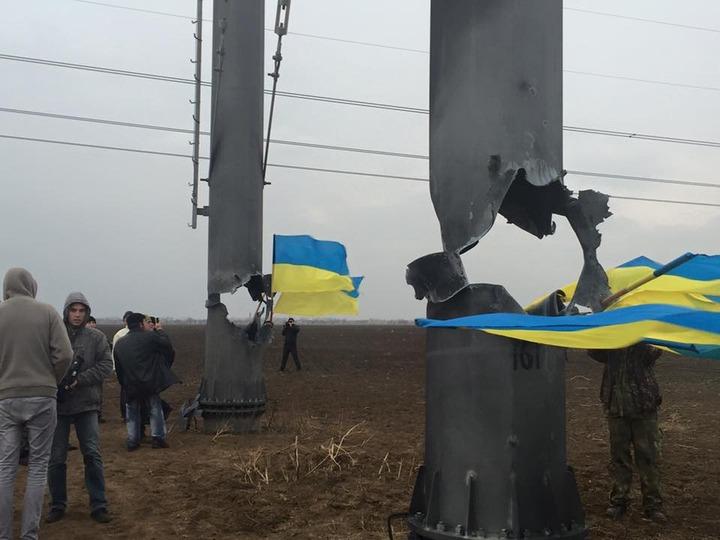 Крымские татары осудили сторонников энергоблокады полуострова Крым