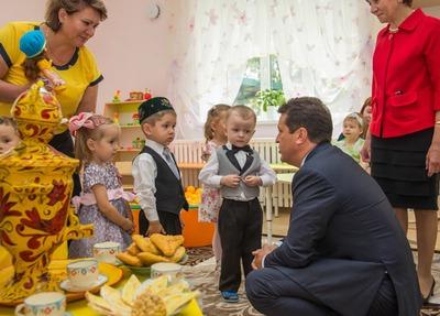 В Казани открылся детский сад с татарским языком воспитания