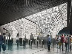 Станцию московского метро украсят орнаментом в русском стиле