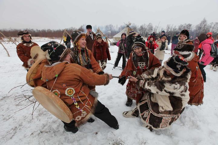 В Магаданской области встретили корякский Новый год