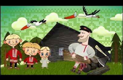 """Сказку о """"Мужике и журавлях"""" рассказали на русском, вепсском и английском языках"""