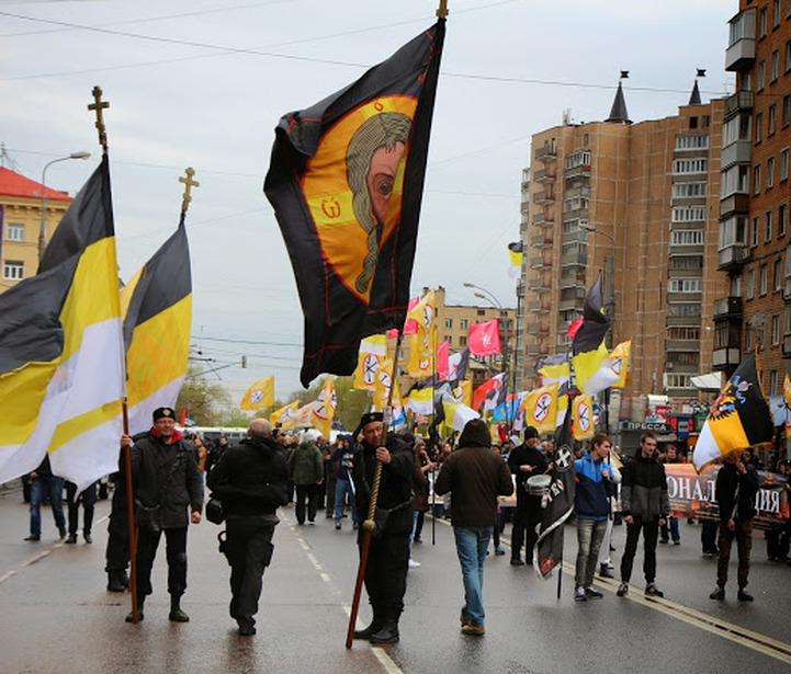 Шествие националистических объединений в Москве собрало 170 человек