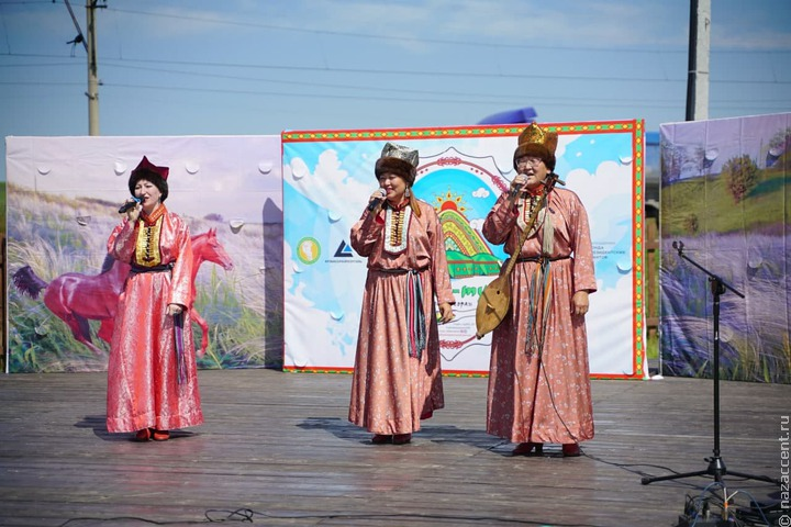 Телеуты Кузбасса отметили праздник первого айрана