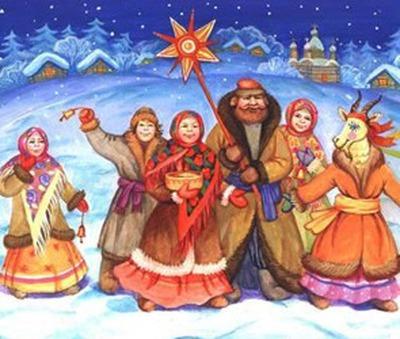 Святочные традиции вспоминали в Казани