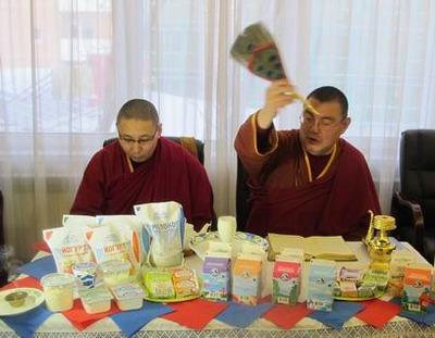 """Буддисты освятят """"белую пищу"""" в преддверии Сагаалгана"""