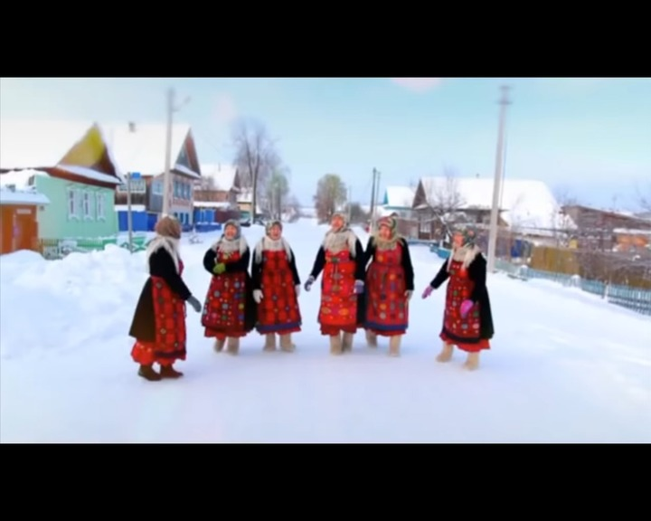 """Бабушки из Бураново"" спели Jingle Bells на удмуртском языке (видео)"