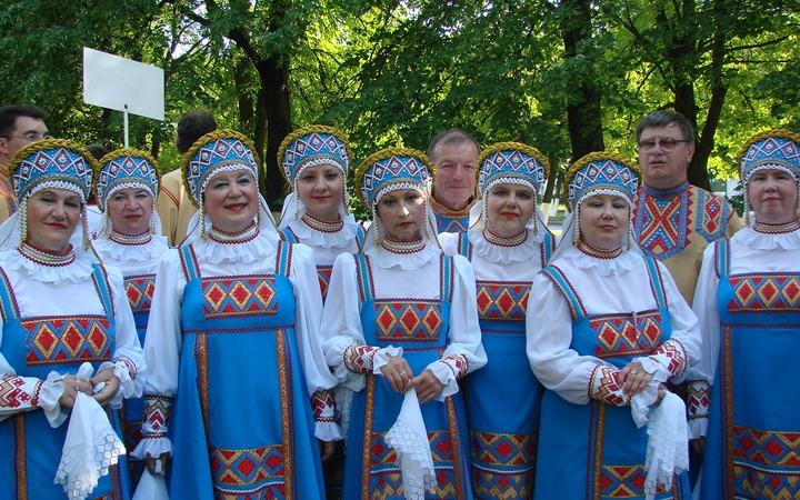 Фестиваль народных хоров и ансамблей стартовал в Ярославле