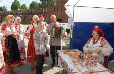 """В Туле состоится фестиваль народных мастеров """"Заиграй, моя игрушка!"""""""